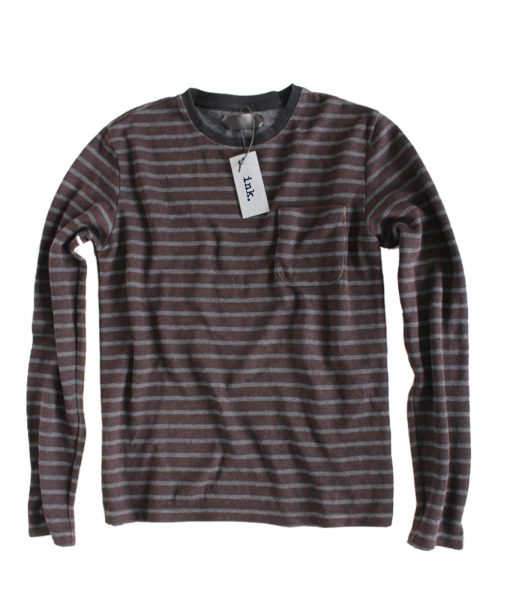 Jackson grey plum thermal long sleeved crewneck copy
