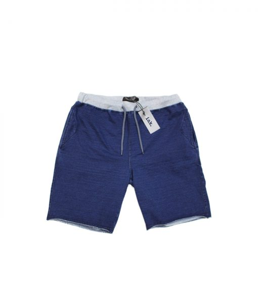 Klein indigo sweat shorts copy