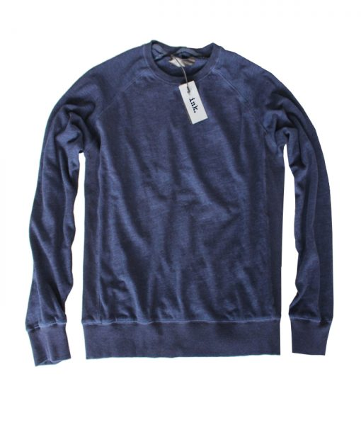 Klein vintage raw indigo crewneck sweat top