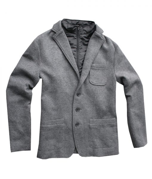 Polloack knited blazer