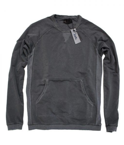 Rodin dark ash granite crewneck with kangaroo pocket copy
