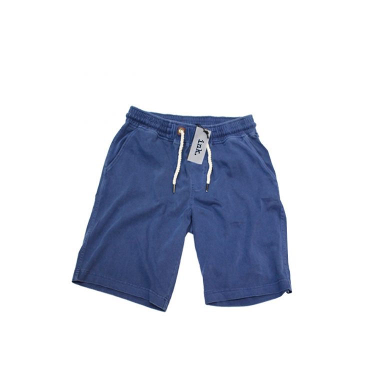 Bacon azure deep blue sweat shorts copy