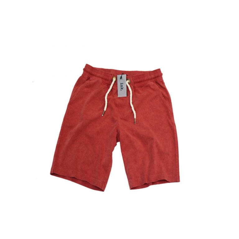 Bacon flaming red sweat shorts  copy