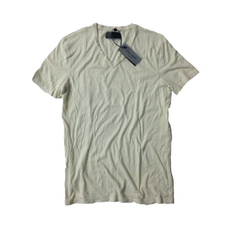 Rodin chalk travertine crew neck 100 %cotton t shirt