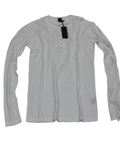 Rodin snow brushed cotton henley